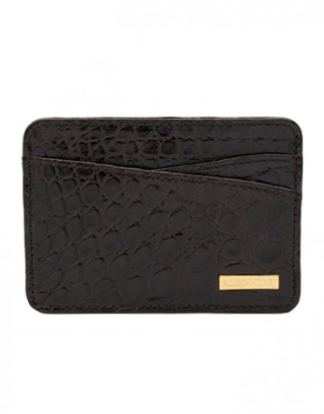 GABY - ALLIGATOR CARD HOLDER