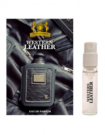 Western Leather Black